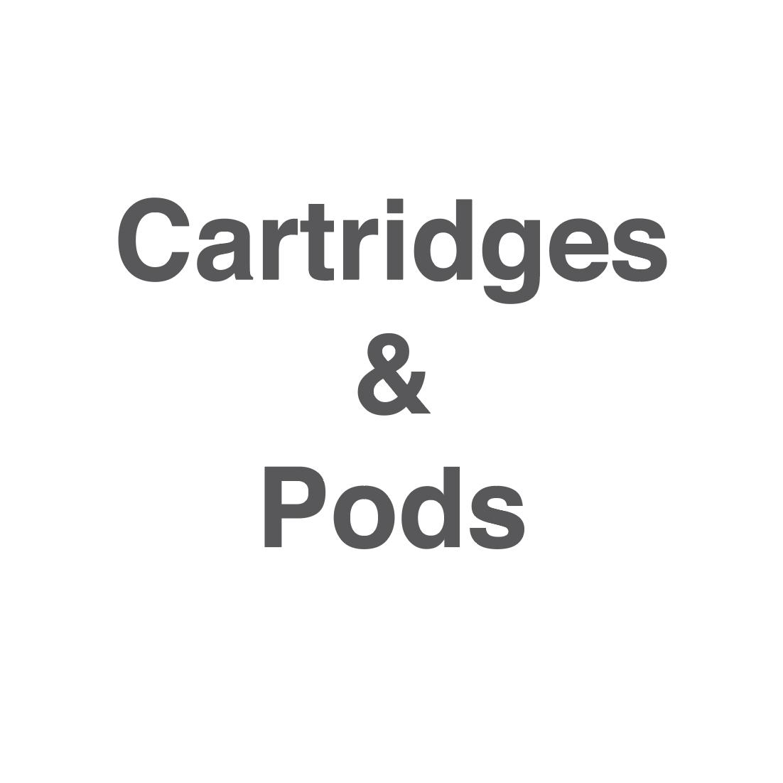 Cartridges & pods
