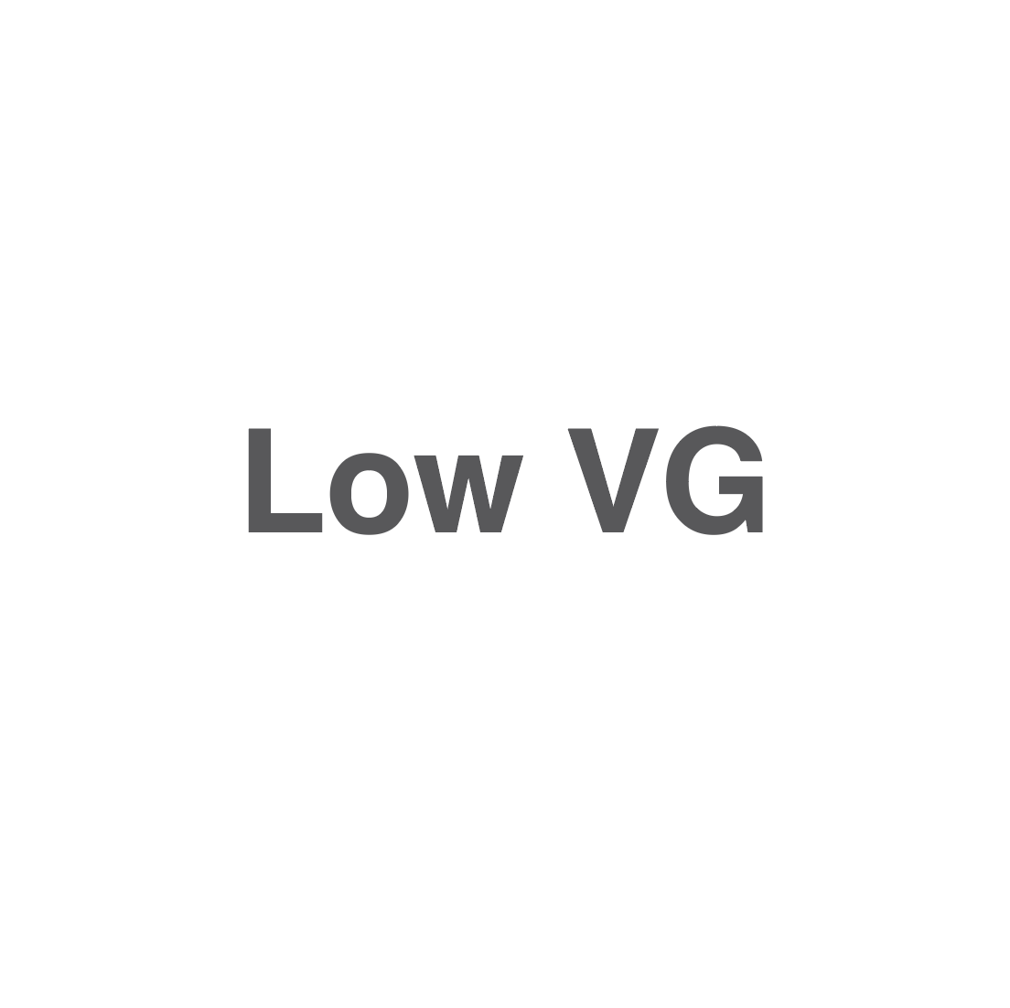 Low VG